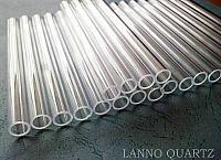 medium transparent quartz tube